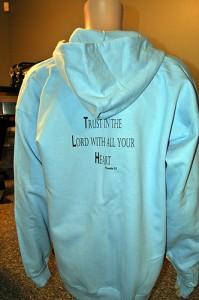 OLHOC zip hoodie, back