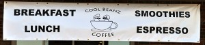 Cool Beanz Coffee banner