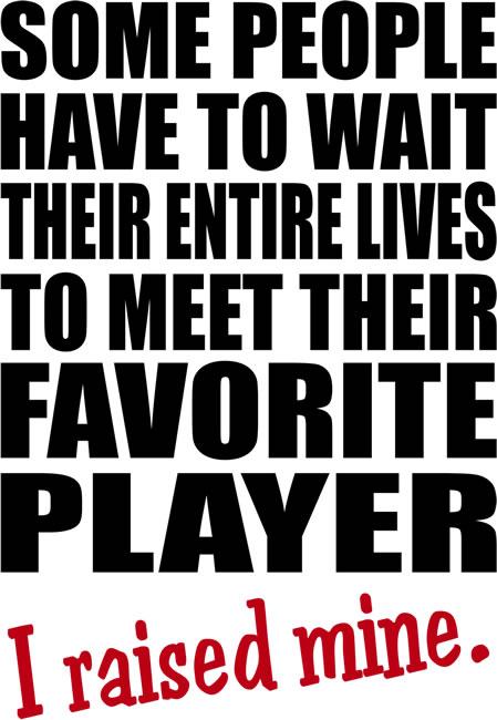 Favorite Player back
