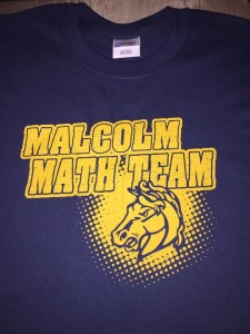 Mustangs Math custom tee