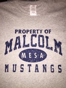 Malcolm MESA custom tee