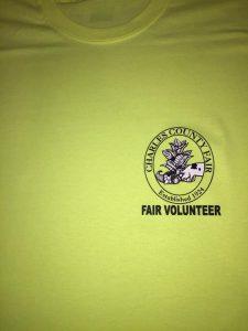 Charles County Fair heart